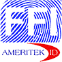 Ameritek ID / Federal Fingerprinting, Inc. Sticky Logo